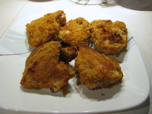 Angela's Baked Fried Chicken