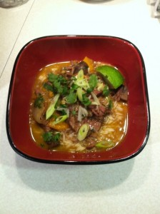 Curry Coconut Beef by Angela