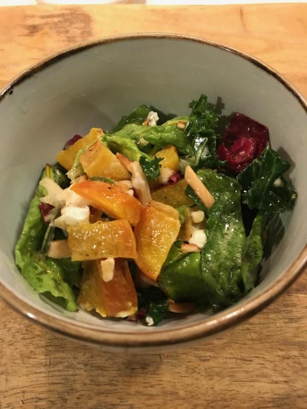 Golden Beet and Greens Salad