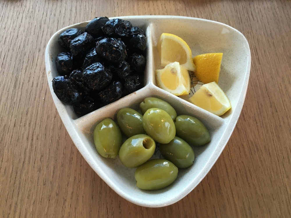 Oil Cured and Castelventrano Olives and Lemons