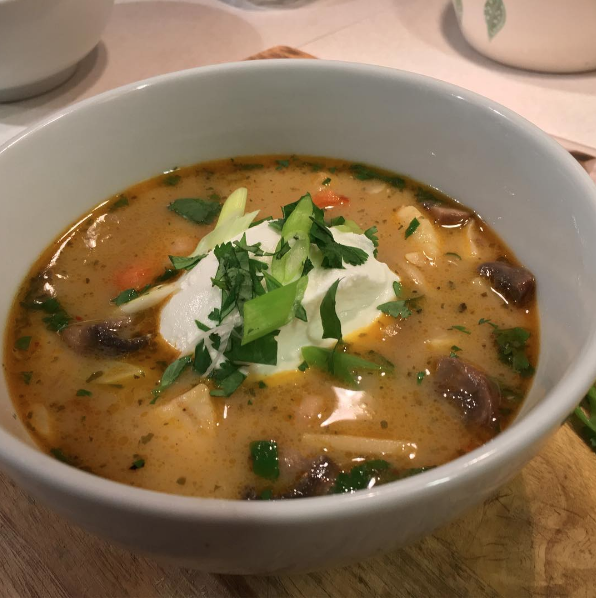 Curried Seafood Soup