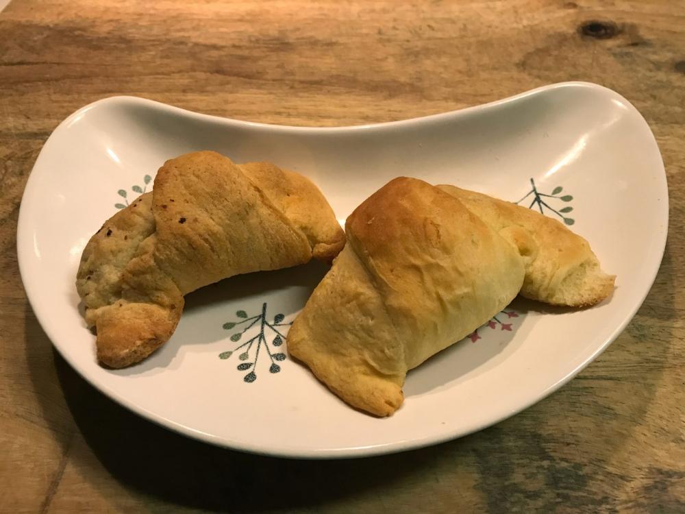 Croissants with Merguez Lamb
