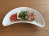 Feta Caprese with Microgreens