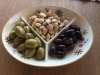Blue Cheese Olives, Marcona Almonds and Kalamata olives
