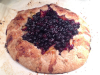 Blueberry and Plum Galette
