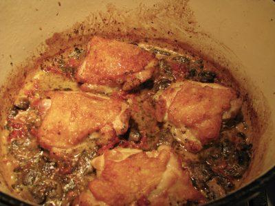Chicken w/ Creamy Sundried Tomato Sauce
