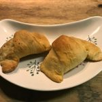 Croissants with Merguez Lamb