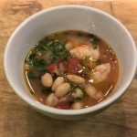 Italian White Bean and Shrimp Soup