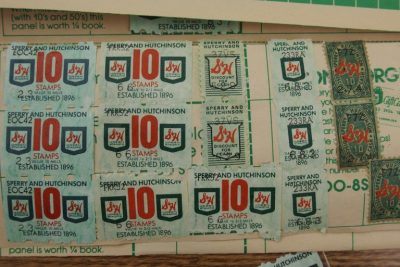 photo of S&H Green stamps
